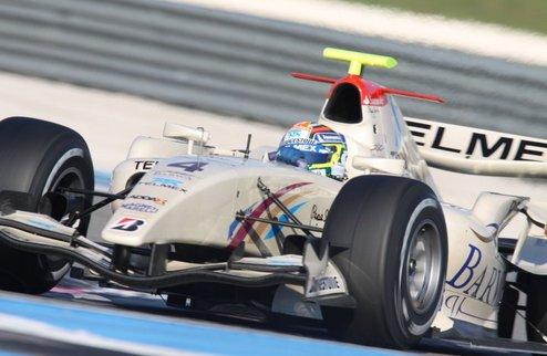 GP2. Гран-при Великобритании. Гонка №2