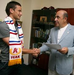 В киевском Арсенале очередной новичок