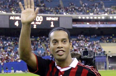 """Фламенго: """"Попытаемся подписать Роналдиньо в январе"""""""