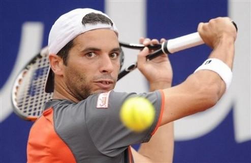Монтаньес обыграл Монфиса в финале турнира в Штутгарте
