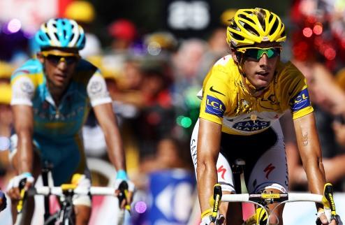 Тур де Франс. Поломка лишает Шлека лидерства!