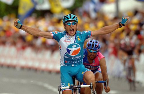 Тур де Франс. Федриго выиграл из отрыва с Армстронгом!