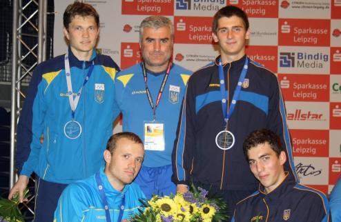 Фехтование. Украинские саблисты - вице-чемпионы Европы