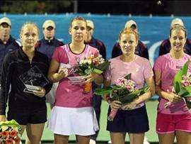 Порторож (WTA). Кондратьева и Улирова выиграли турнир