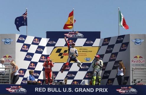 MotoGP. Гран-при США. Лоренсо - первый