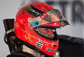 Шумахер поддерживает Феррари