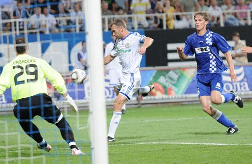 Динамо отправляет в ворота Гента три безответных мяча