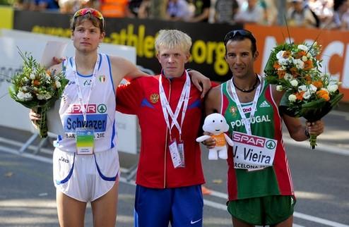 Легкая атлетика. ЧЕ-2010. В первых трех видах Украина - без медалей