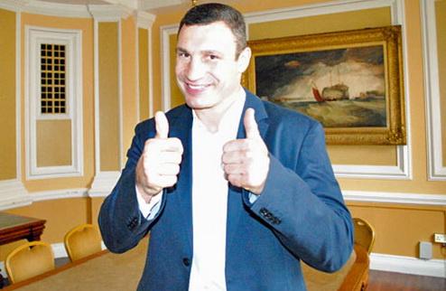 """Виталий Кличко: """"Готов драться с Хэйем даже на луне"""""""