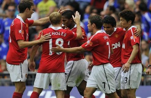 МЮ выигрывает Суперкубок Англии