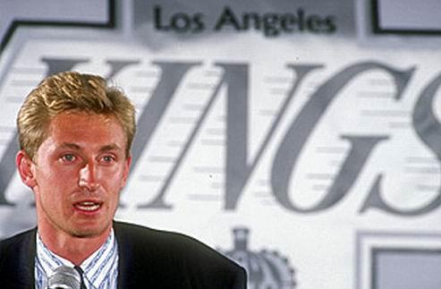 НХЛ. Прошло 22 года с момента трейда Гретцки в Лос-Анджелес