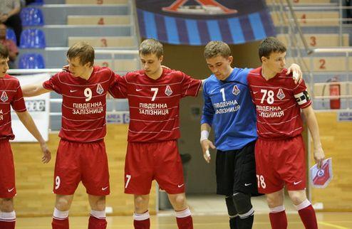 Футзал. Локомотив упускает победу в матче с латышами