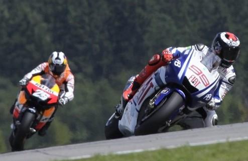 MotoGP. Очередная победа Лоренсо