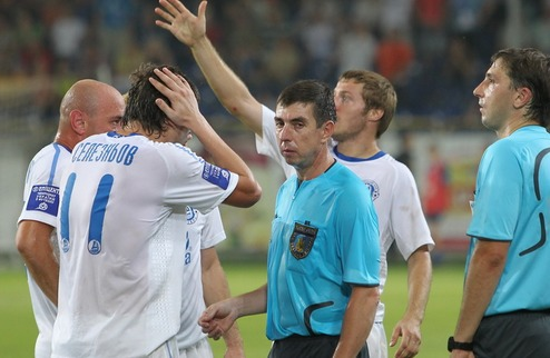 Премьер-лига наказала двух футболистов Днепра и оштрафовала клуб