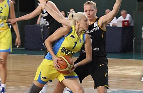 Украинки обыграли Германию