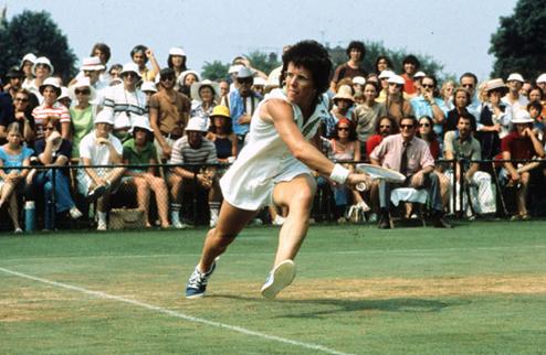 Легенды тенниса. Билли Джин Кинг