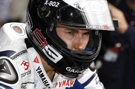 MotoGP. Лоренсо не хочет рисковать