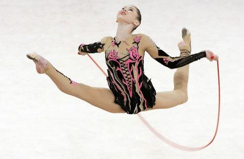 Художественая гимнастика. В Италии призы были рядом