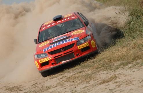 """""""Mentos Ascania Racing"""" на Ралли """"Курземе"""" 2010"""