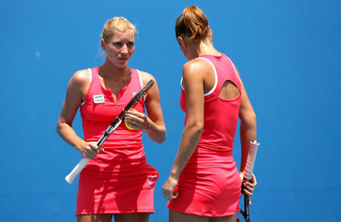 Сестры Бондаренко вылетают и из парного турнира на US Open