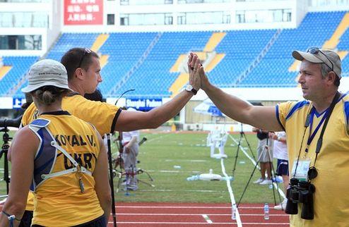 Украинские лучники — призеры этапа Кубка мира