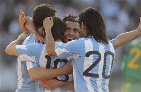 Аргентина громит чемпионов мира