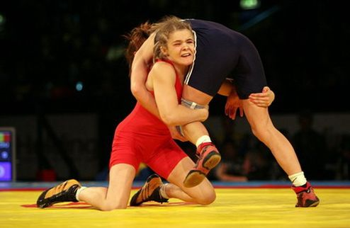 Украинка — чемпионка мира по борьбе
