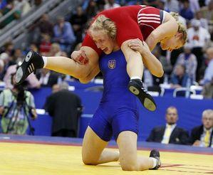 Украинка завоевала бронзу чемпионата мира по борьбе