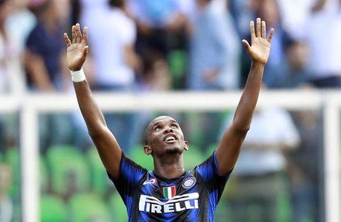 Серия А. Интер прерывает домашнюю беспроигрышную серию Палермо