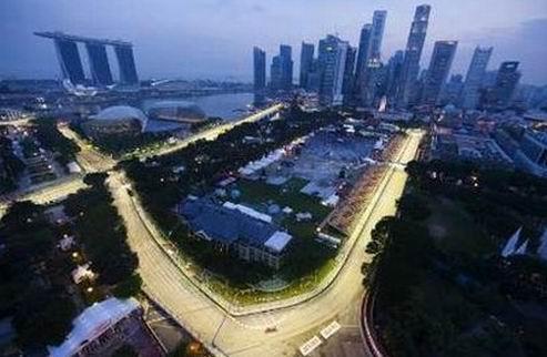 Гран-при Сингапура. Гонка. Онлайн