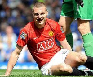 Видич недоволен обороной Манчестер Юнайтед
