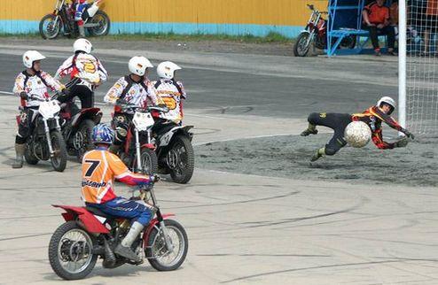 Мотобол. Чемпионат Украины еще живой