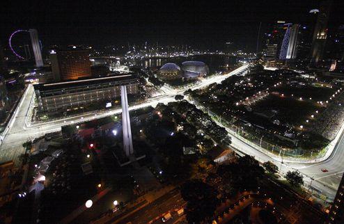 Машина времени. Сингапур-2008. Часть 1. Гран-при