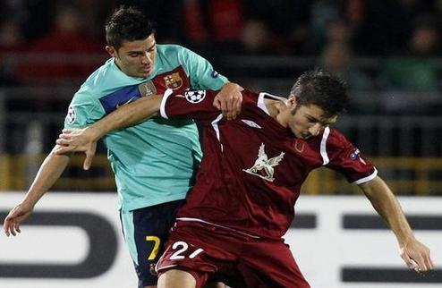 Барселона вновь не может обыграть Рубин
