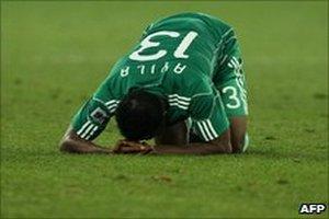 ФИФА наказала Нигерию
