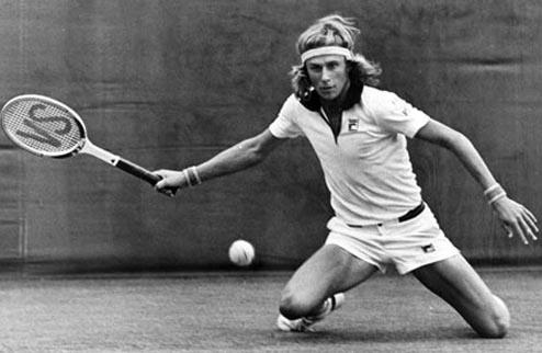 Легенды тенниса. Бьорн Борг