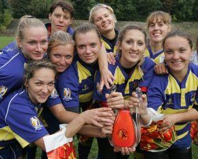 Украинские регбистки выиграли международный турнир