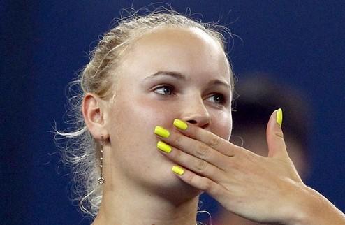 Пекин (WTA). Возняцки побеждает Звонарёву в финале