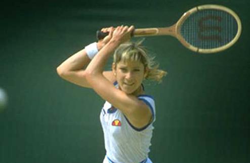 Легенды тенниса. Крис Эверт