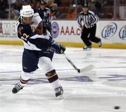 НХЛ. Стюарт признан первой звездой дня