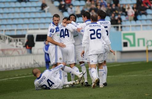 Футболисты Динамо о победе над Карпатами