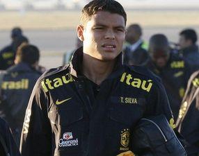 Тиаго Силва прилетел в Мадрид