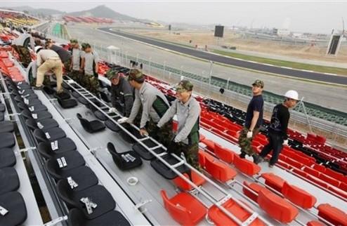 На гран-при Кореи возможен дождь