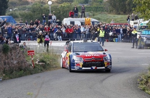 WRC. Ралли Испании. День 2. Лёб сохранил лидерство