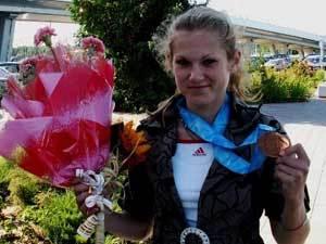 У белорусской легкоатлетки забрали золото юниорского ЧМ-2010