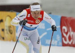 Шведская лыжница борется с таинственной болезнью