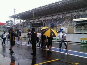 Гран-при Бразилии. В Интерлагосе идет дождь