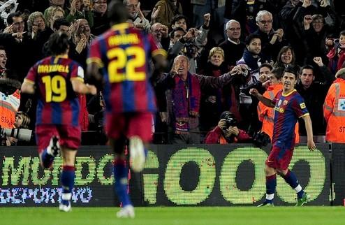 Барселона выходит в лидеры + ВИДЕО