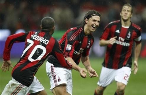 Милан остается на вершине + ВИДЕО