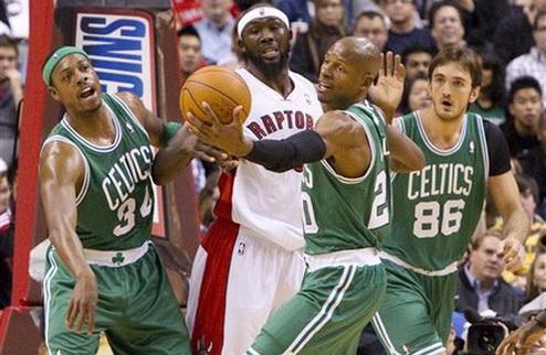 НБА. Торонто вырвали победу у Бостона